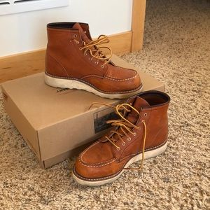 Red Wing Shoes women's classic moc